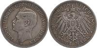 Deutschland : 2 Mark Ernst Ludwig  1895 s/ss.