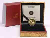 Kanada 150 Dollar Jahr des Drachen 2012 PP GOLD