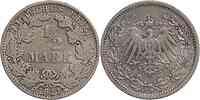 Deutschland : 1/2 Mark   1911 ss+