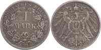 Deutschland : 1 Mark   1896 f.ss