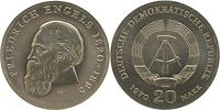 DDR : 20 Mark Friedrich Engels 1970 Stgl.