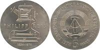 DDR : 5 Mark Philipp Reis 1974 Stgl.