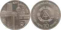 DDR : 10 Mark Städtemotiv 1974 Stgl.