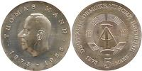 DDR : 5 Mark Thomas Mann 1975 Stgl.