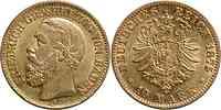 Deutschland : 10 Mark Friedrich winz. Rs. 1875 ss.