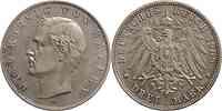 Deutschland : 3 Mark Otto patina 1909 vz.
