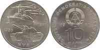 DDR : 10 Mark 25 Jahre NVA 1981 vz/Stgl.