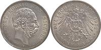 Deutschland : 5 Mark Albert a.d. Tod winz. Rs. 1902 vz/Stgl.