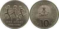 DDR : 10 Mark 40 Jahre DDR-Sportbund  1988 Stgl.