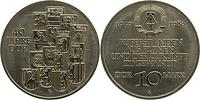 DDR : 10 Mark 40 Jahre DDR 1989 Stgl.
