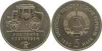 DDR : 5 Mark 500 Jahre Postwesen 1990 Stgl.