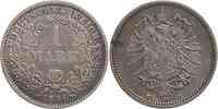 Deutschland : 1 Mark   1886 s/ss.