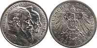 Deutschland : 5 Mark Friedrich u. Luise  1906 Stgl.