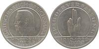 Deutschland : 5 Reichsmark Verfassung  1929 ss/vz.