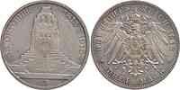 Deutschland : 3 Mark 100 Jahre Völkerschlacht bei Leipzig  1913 ss/vz.
