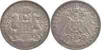 Deutschland : 3 Mark   1909 ss/vz.