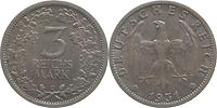 Deutschland : 3 Reichsmark   1931 vz.