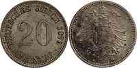 Deutschland : 20 Pfennig   1876 vz.
