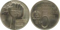 DDR : 5 Mark Anti - Apartheid 1978 vz/Stgl.
