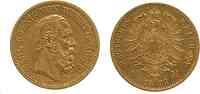 Deutschland : 20 Mark Karl  1873 ss.