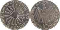 Deutschland : 10 DM Strahlenspirale München 1972 vz/Stgl.