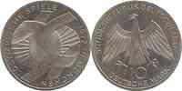 Deutschland : 10 DM Verbindungssymbole  1972 vz/Stgl.
