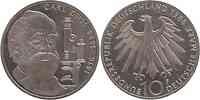 Deutschland : 10 DM Zeiss 1988 vz/Stgl.