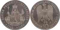 Deutschland : 10 DM Barbarossa 1990 vz/Stgl.