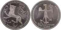 Deutschland : 10 DM Heinrich der Löwe  1995 vz/Stgl.