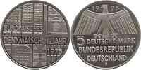 Deutschland : 5 DM Denkmalschutz  1975 vz/Stgl.