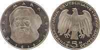 Deutschland : 5 DM Marx  1983 vz/Stgl.