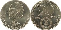DDR : 20 Mark Otto Grotewohl  1973 vz.