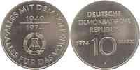 DDR : 10 Mark 25 Jahre DDR 1974 vz.