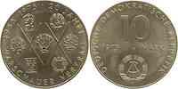 DDR : 10 Mark 20 Jahre Warschauer Pakt 1975 vz.