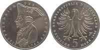 Deutschland : 5 DM Friedrich der Große  1986 vz/Stgl.