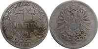 Deutschland : 1 Mark   1874 s/ss.