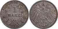 Deutschland : 1 Mark   1910 ss/vz.