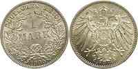 Deutschland : 1 Mark   1905 vz/Stgl.