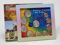 Spanien : 5,88 Euro Medaille Cantabria + original Kursmünzensatz aus Spanien mit 2 Euro Gedenkmünze WWU  2009 Stgl. KMS Kantabrien 2009