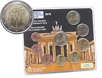 KMS Spanien 2010 World Money Fair inkl. 2 Euro Cordoba