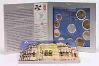 Spanien : 5,88 Euro Medaille Ceuta + original Kursmünzensatz aus Spanien mit 2 Euro Gedenkmünze Alhambra  2011 Stgl.