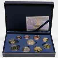 Spanien 7,88 Euro KMS Spanien m. 2 Euro Gedenkmünze Burgos + Eurobargeld 2012 PP