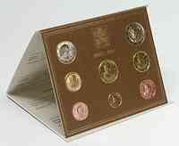 Vatikan : 3,88 Euro original Kursmünzensatz aus dem Vatikan 2011 Stgl.