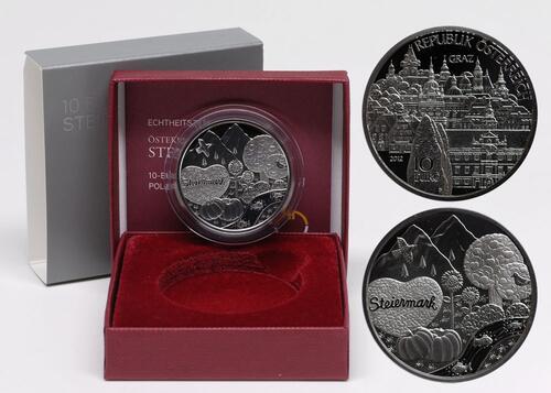 Lieferumfang:Österreich : 10 Euro Steiermark  2012 PP
