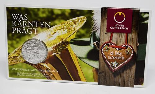 Lieferumfang:Österreich : 10 Euro Kärnten  2012 Stgl.