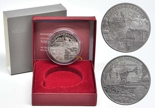 Lieferumfang:Österreich : 10 Euro Niederösterreich  2013 PP