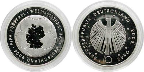 Lieferumfang:Deutschland : 10 Euro I. Ausgabe FIFA Fußball WM Deutschland 2006  2003 PP