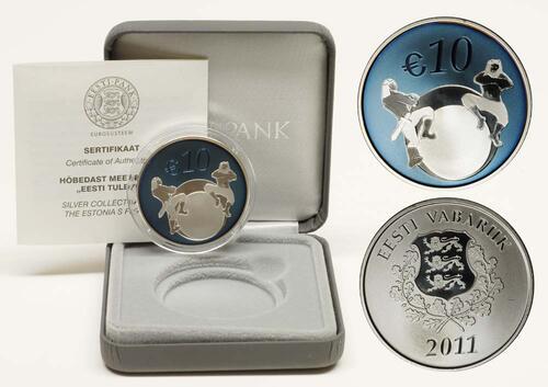 Lieferumfang:Estland : 10 Euro Estlands Zukunft  2011 PP