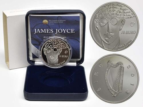 Lieferumfang:Irland : 10 Euro James Joyce  2013 PP