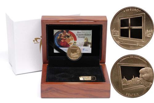Lieferumfang:Niederlande : 10 Euro Niederlande und die Malkunst  2011 PP